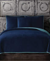 Tracy Porter Closeout! Reversible Velvet Quilted Twin Xl Coverlet Bedding