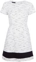 Pinko speckled print shift dress