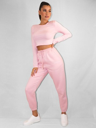 Missguided Oversized 90s Joggers - Pink