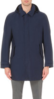 Canali Detachable-hood wool anorak
