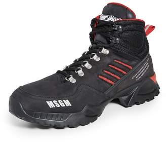 MSGM Hiker Sneakers