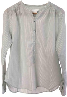 Zadig & Voltaire Green Cotton Top for Women