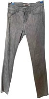 J Brand Grey Cotton Jeans for Women