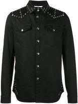 Valentino denim eyelet jacket - men - Cotton - 46