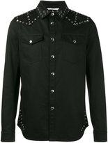 Valentino denim eyelet jacket - men - Cotton - 48