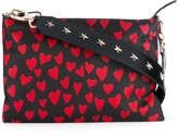 RED Valentino heart print crossbody bag