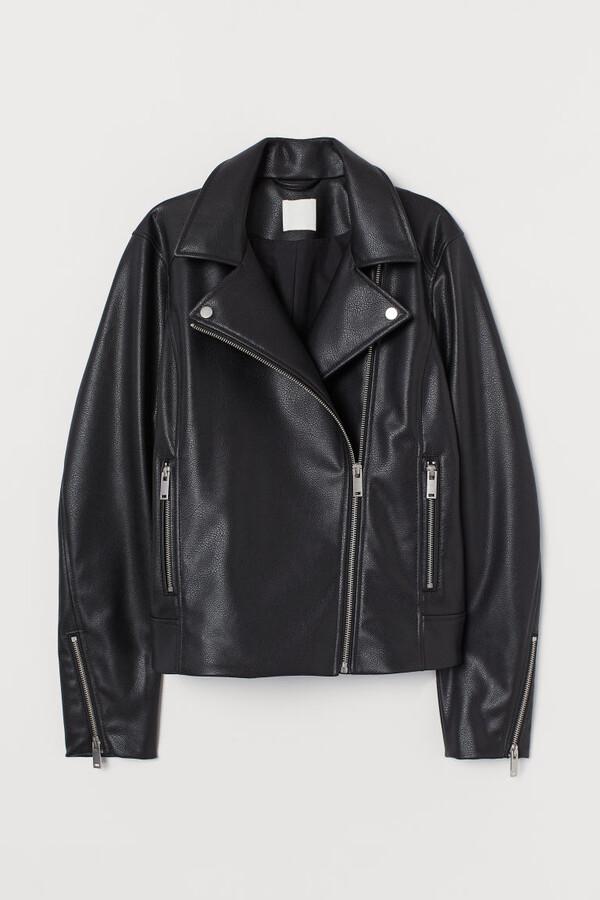 Thumbnail for your product : H&M Biker Jacket - Black