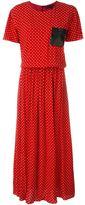 Love Moschino polka dot print midi dress
