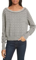 Theory Women's Cashmere Jacquard Sweater