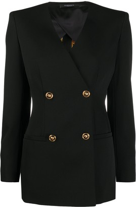 Versace Medusa double-breasted blazer