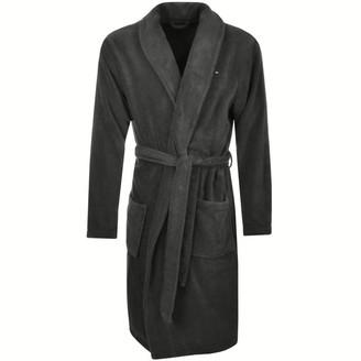 Tommy Hilfiger Loungewear Icon Bath Robe Grey