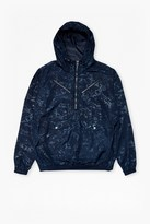 French Connection Lawson Marble Hooded Jacket