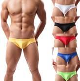 OMG_Shop OMG Mens Briefs Sexy Seamless Thong Pouch U Convex Underwear Underpants Panties L