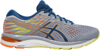 Asics GEL-Cumulus 21 Running Shoes - Sheet Rock / Mako Blue
