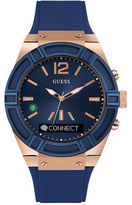 Guess Analog Smartwatch with Bluetooth Voice Command and Notifier Technology