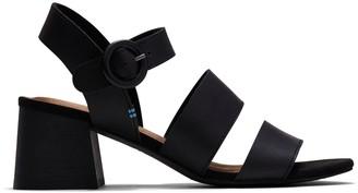 Black Veg Tan Leather Women's Grace Sandals