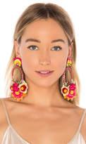Ranjana Khan Floral Drop Earring