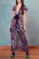 For Love & Lemons Cleo Maxi Dress