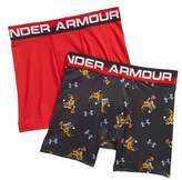 Under Armour Pizza Dunk Boxerjock(R) 2-Pack Boxer Briefs