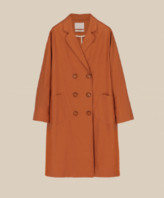 Momonì Momoni - Echinacea Cotton Linen Coat SS20 - S .