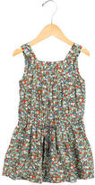 Bonpoint Girls' Floral Print Sleeveless Dress
