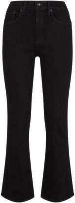 Rag & Bone Hana Cropped Kick-Flare Jeans