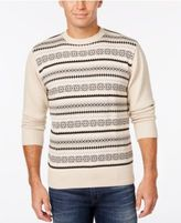Weatherproof Men's Big and Tall Fair Isle Sweater, Classic Fit