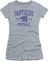 Friday Night Lights TV Series Panther Arch Juniors Sheer T-Shirt Tee