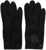 Manokhi - cut out detail gloves - women - Lamb Skin - 7