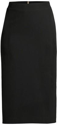 Donna Karan Tech Crepe Pencil Skirt
