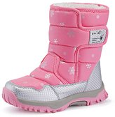 Freewent Kids Waterproof Thermal Frosty Winter Snow Boots (Little Kid/Big Kid) 32