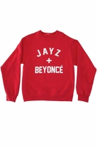 Private Party Jay Z + Beyoncé Sweatshirt in Red