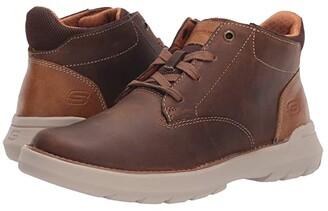 Skechers Relaxed Fit Doveno - Molens (Black) Men's Shoes