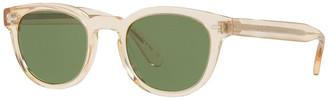 Oliver Peoples Men's Sheldrake Round Sunglasses