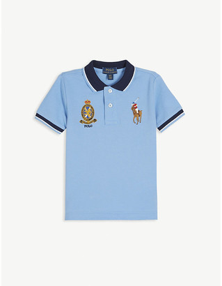 Ralph Lauren Logo crest cotton polo shirt 2-14 years