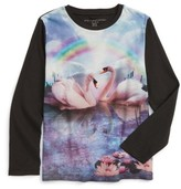 Stella McCartney Girl's Swan Graphic Tee