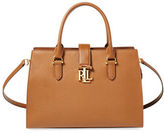 Lauren Ralph Lauren Leather Medium Satchel