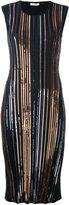 Nina Ricci striped dress - women - Polyamide/Polyester/Viscose - L