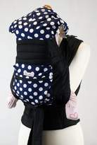 Palm and Pond Mei Tai Baby Sling Carrier - with White Spots