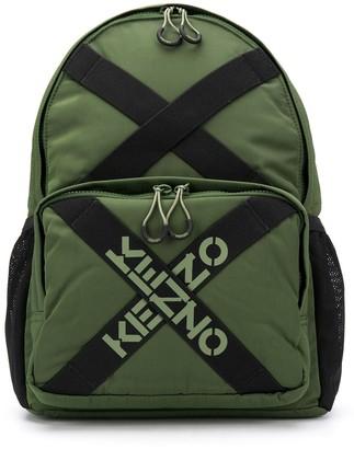 Kenzo Logo-Tape Backpack
