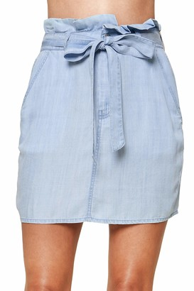 Sugar Lips Sugarlips Women's Arizona Frayed Mini Skirt