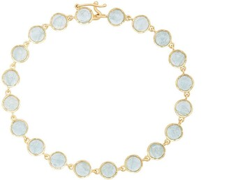 Irene Neuwirth 18kt Yellow Gold Aquamarine Bracelet