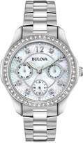 Bulova Women's Stainless Steel Bracelet Watch 36mm, Created for Macy's