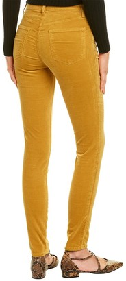 J Brand Maria Iconic Gold High-Rise Skinny Leg Jean