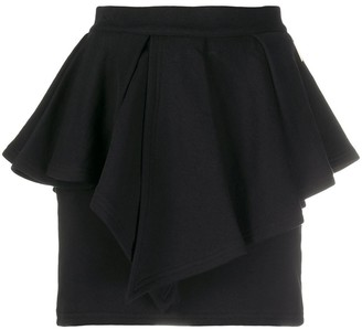 Alexandre Vauthier Layered Pleated Skirt