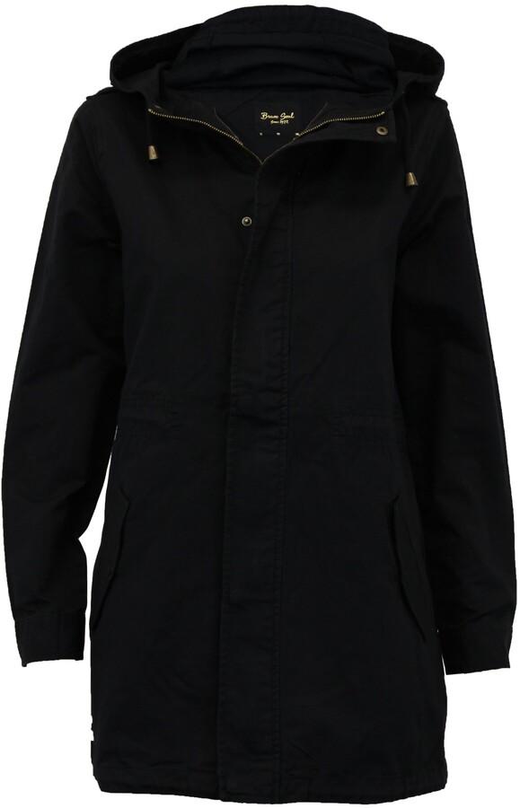 Thumbnail for your product : Brave Soul Ladie's Jacket BELGIUMPKB Black UK 10