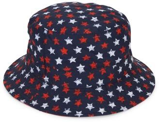 San Diego Hat Company Girl's Reversible Printed Bucket Hat