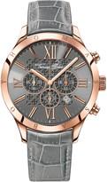 Thomas Sabo Rebel heart grey and rose chronograph watch