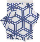 Zucchi Collection Esagon Brushed Cotton Sheet Set
