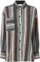 IRO Ramset knitted shirt - women - Cotton/Polyester/Wool/water - 36